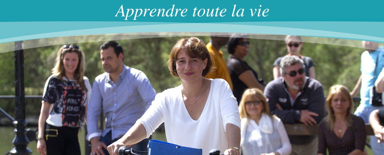 Apprendre toute la vie. Centre de formation Djem pour les entreprises à Cergy Pontoise Val d'Oise.