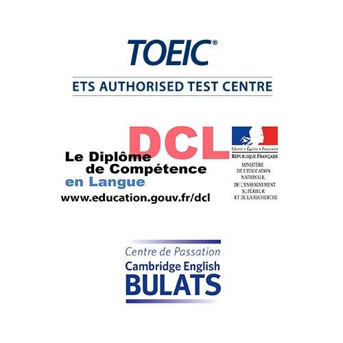 Anglais TOEIC DCL BULATS Djem Formation Cergy Pontoise