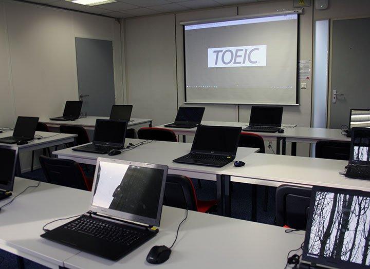 Toeic Cergy Salle de test Online Djem Formation
