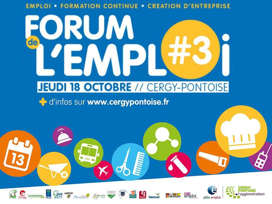 Forum de l'Emploi 2018 Cergy Pontoise