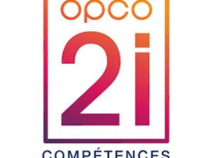 logo actions collectives Opco 2i Ile de France compétences industries langues informatique Djem Formation Cergy Pontoise Paris Ile de France