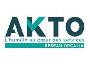 Logo AKTO Réseau Opcalia finance les formations Djem Cergy Pontoise Val Oise Ile de France