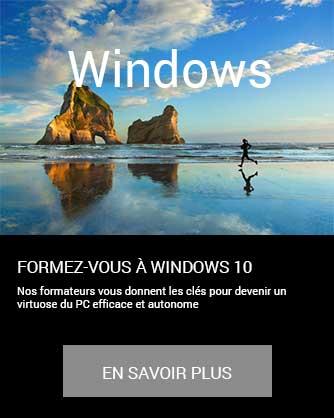 formation Essentiels ordinateur PC informatique bureautique Microsoft Windows en savoir plus à distance inter intra certifiant CPF Cergy Djem