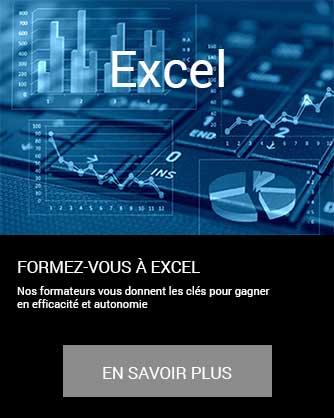 formation Excel tableur bureautique informatique Microsoft Office en savoir plus à distance inter intra certifiant CPF Cergy Djem