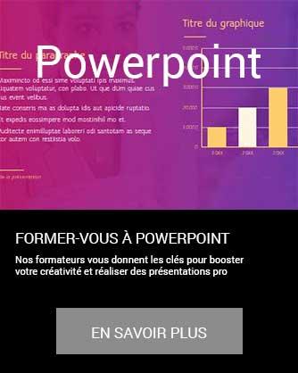 formation PowerPoint présentation bureautique Microsoft Office en savoir plus à distance inter intra certifiant CPF Cergy Djem