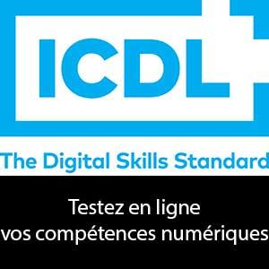 test en ligne gratuit compétences numériques bureautique internet infographie web informatique certificat cpf formation à distance Cergy Pontoise Djem Val d'Oise Icdl Pcie